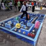 Уличные 3d-рисунки, выполненные на асфальте (31 фото)