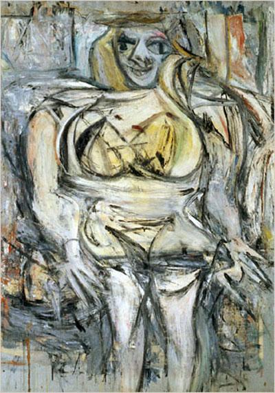 Виллем де Кунинг — Женщина III (1953)
