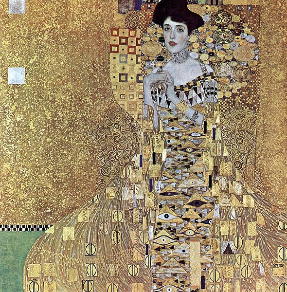 Густав Климт — Портрет Адели Блох-Бауэр I (1907)