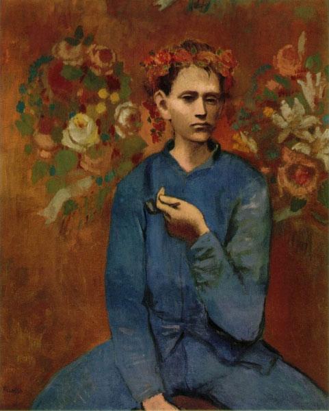 Пабло Пикассо — Мальчик с трубкой (1905)