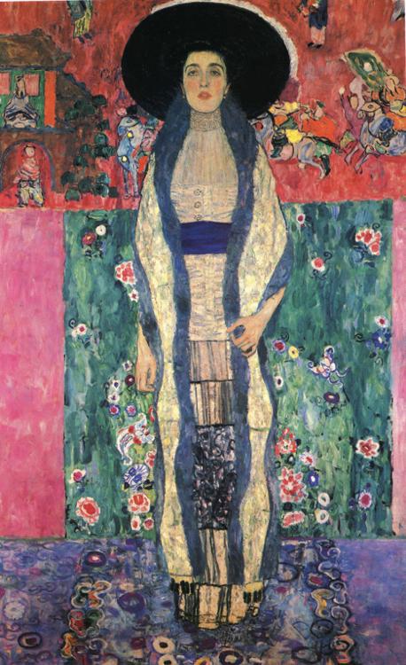 Густав Климт — Портрет Адели Блох-Бауэр II (1912)