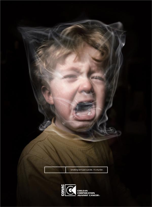 Курение - это не только суицид, но и убийство!