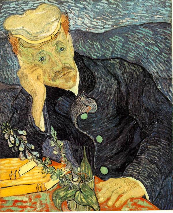 Винсент ван Гог — Портрет доктора Гаше (1890)