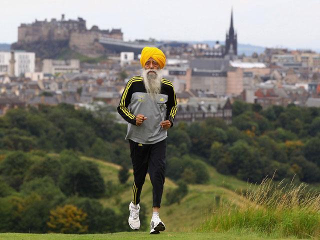100-летний марафонец Фауджа Сингх раскрыл секреты долголетия: спорт, имбирь, карри и чай