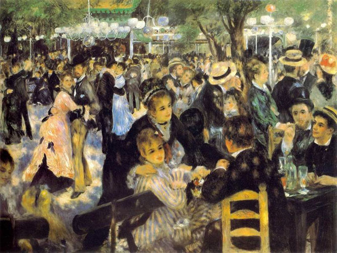 Пьер Огюст Ренуар — Бал в Мулен де ла Галетт (1876)