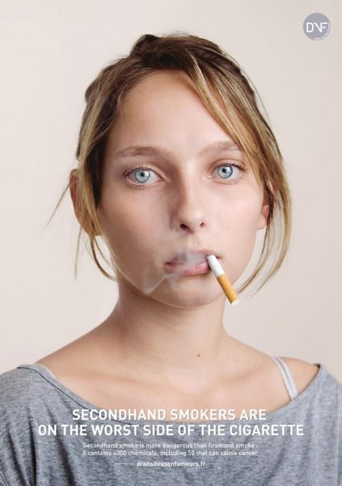 Пассивные курильщики находятся на худшей стороне сигареты!