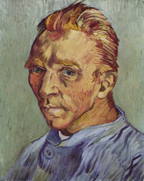Винсент ван Гог — Портрет художника без бороды (1889)