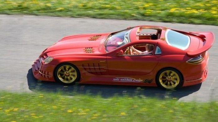 Полюбуйтесь! Писаный красавец! Mercedes-Benz SLR McLaren - за 11 000 000 долларов!