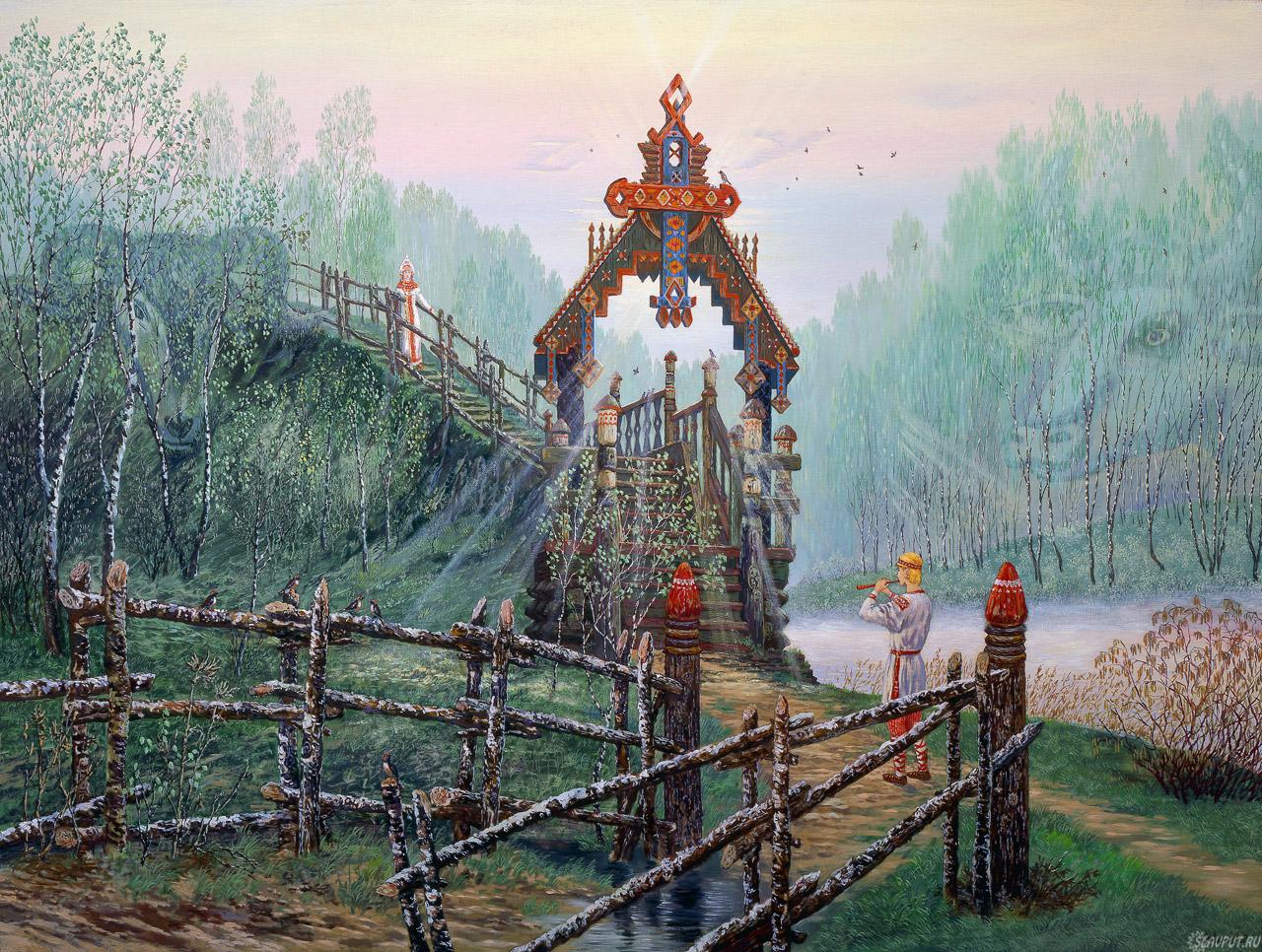 Художник Всеволод Иванов - подлинная история Древней (Ведической) Руси