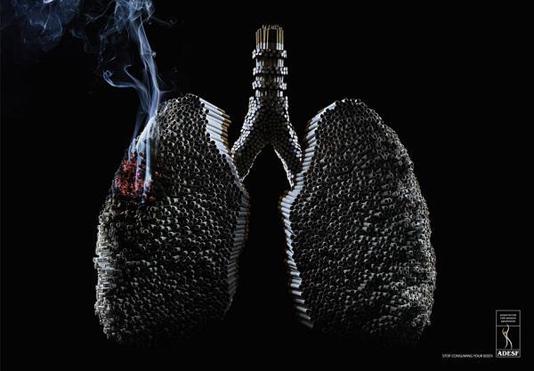 Курильщик! Ты уничтожитель своего тела!