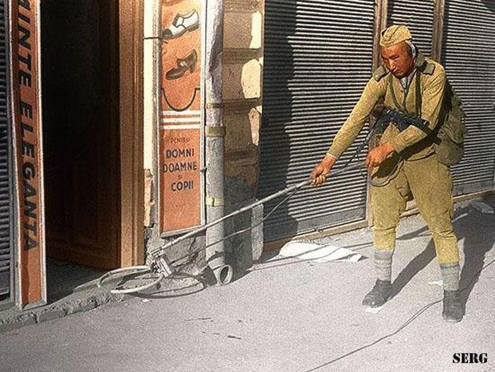 50 цветных фото с Великой Отечественной