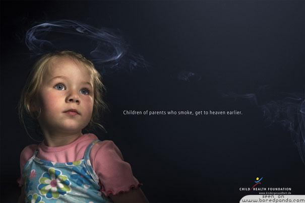 Дети могут погибнуть из-за вас, курильщики!