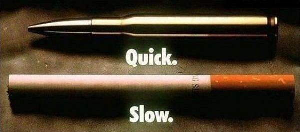 Медленно и мучительно будешь умирать, курильщик!