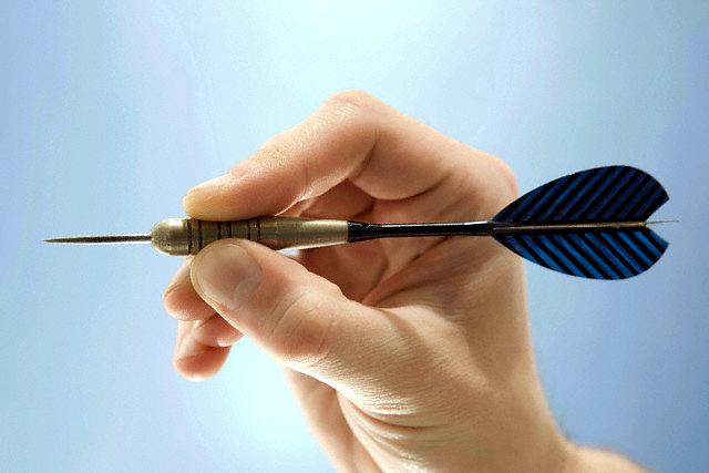 2 darts brosok s pravoy