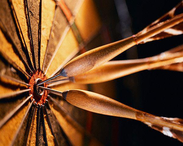 3 darts v jablochko