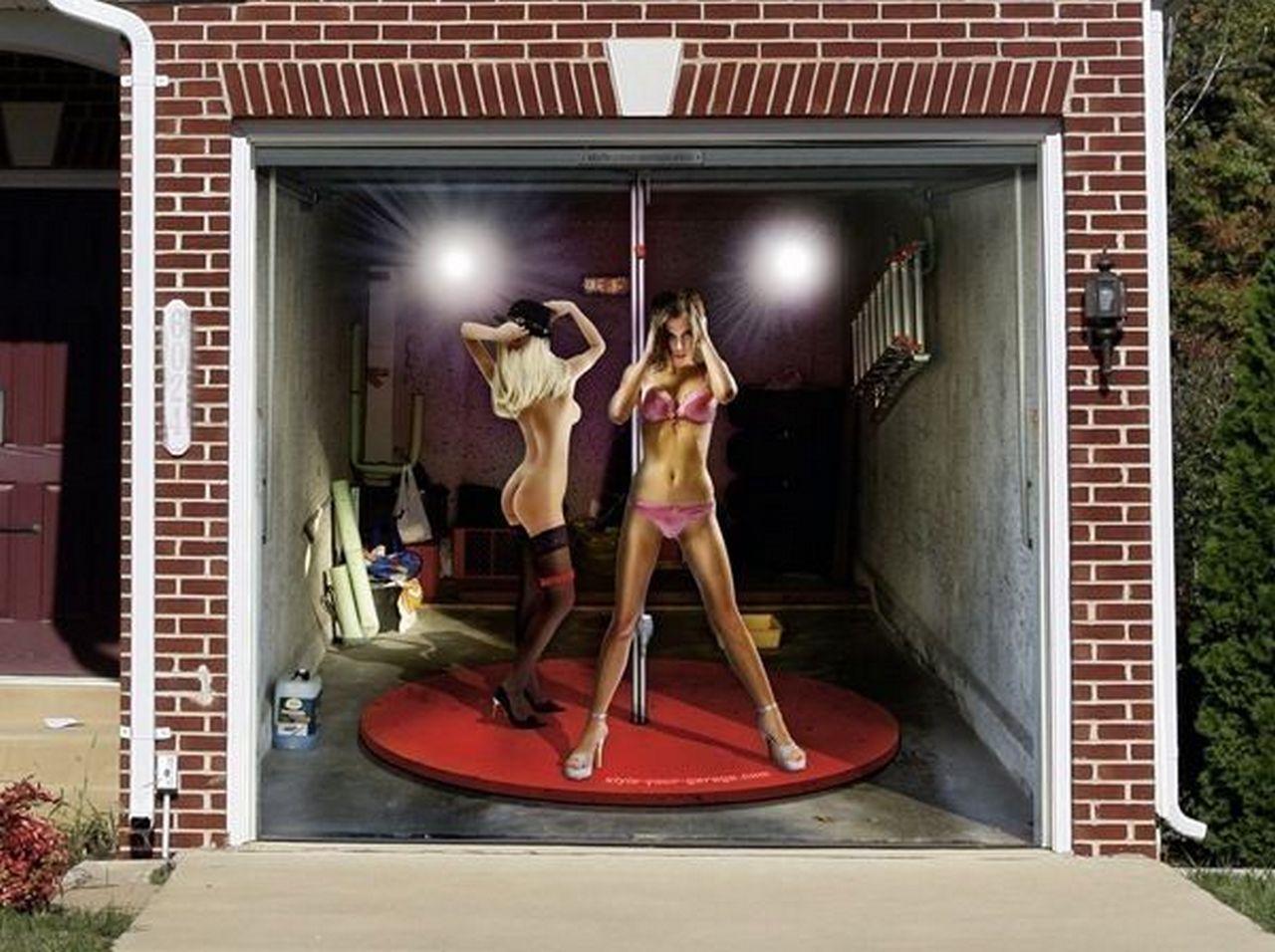 рисунки на воротах гаража своими руками фото сказать, что