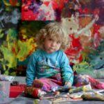 Аэлита Андре – самая юная художница (статья + 18 фото)