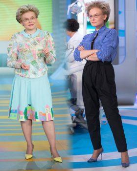 Как худеет и молодеет Елена Малышева