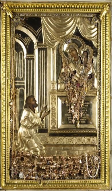 Чудотворная Икона Божьей Матери Нечаянная Родость в Храме Илии Пророка