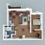Как выжать максимум из однокомнатной квартиры? (статья + 10 фото)