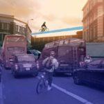 Лондонские велосипедисты «взлетят» к 2015 году!?
