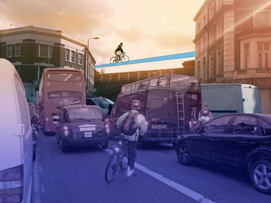 Лондонские велосипедисты «взлетят» к 2015 году