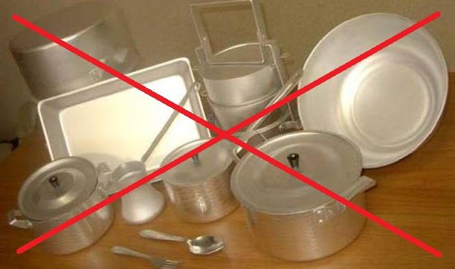Алюминиевая посуда вредна?!