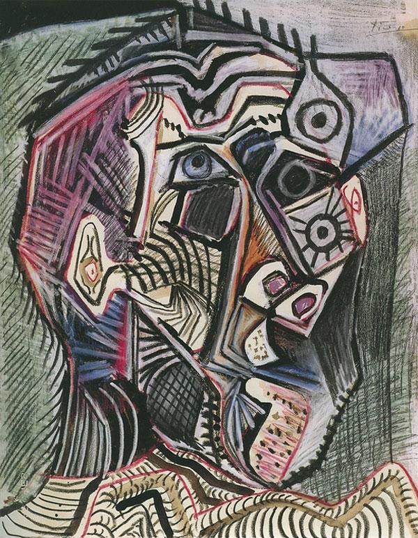 Автопортреты Пикассо в хронологическом порядке, 1896–1972 годы