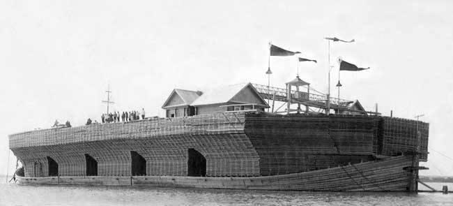Что такое одноразовый деревянный корабль, и как он может плыть без единого гвоздя...