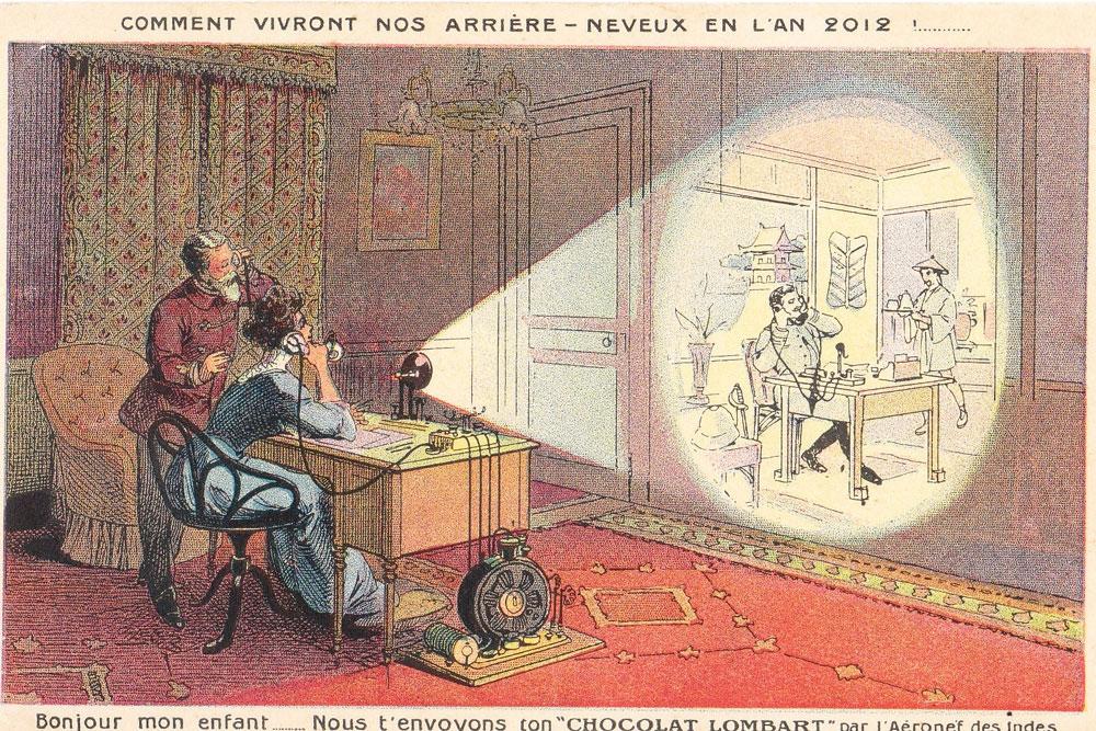 Как люди представляли себе будущее 100 лет назад (9 фото)