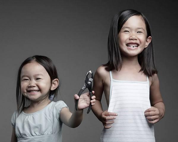 Креативные детские фото от папы-фотографа (24 фото)