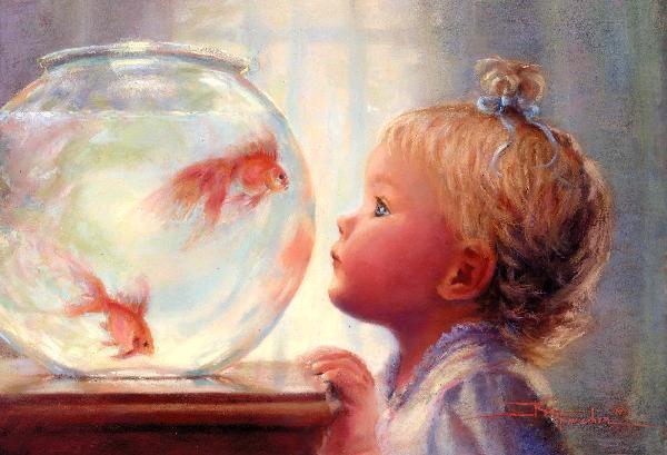 """""""Цветы жизни"""" в картинах Кэтрин Финчер (статья + видео)"""