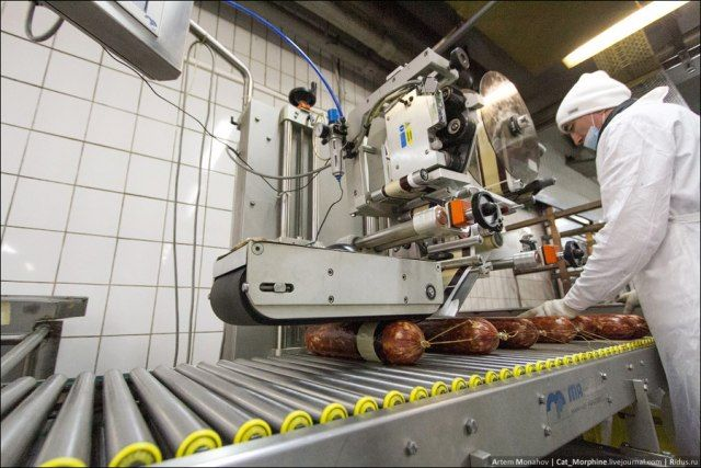 Как делают российскую колбасу (25 фото)