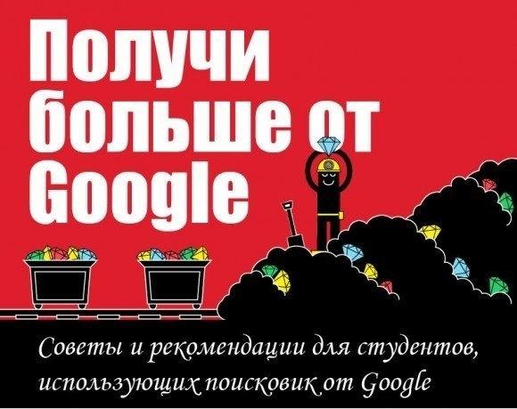 Как правильно искать в гугле (инфографика)