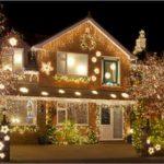 Подсветка дома в деталях (статья + 12 фото + видео)
