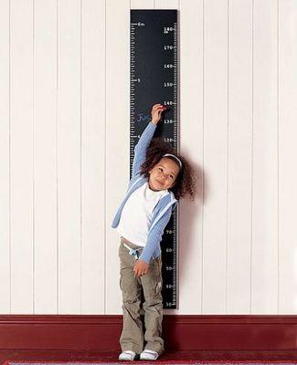 Рост ребенка и его развитие (статья + формулы + таблицы)