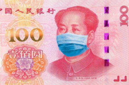 koronavirus v maske