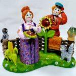 Ковровская глиняная игрушка (31 фото + статья)