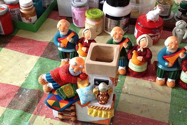 Ковровская глиняная игрушка