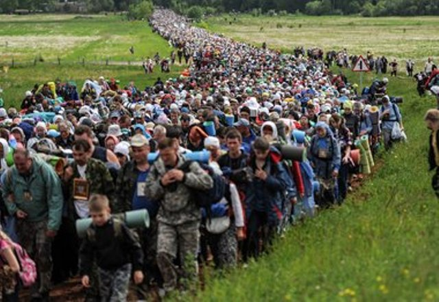 Марш совести против марша миллионов