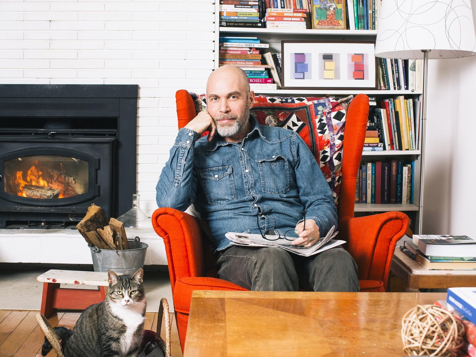 Мужчины с котами (Ронан и Изабель)