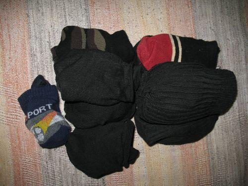 Носки - наводим порядок в шкафу