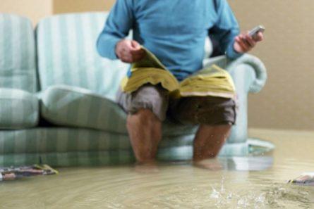 Потоп в квартире. Если затопили вас, если затопили вы, потоп в съёмной квартире