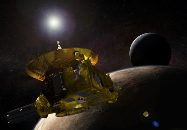 Пролет New Horizons мимо Плутона за 23 секунды (видео)