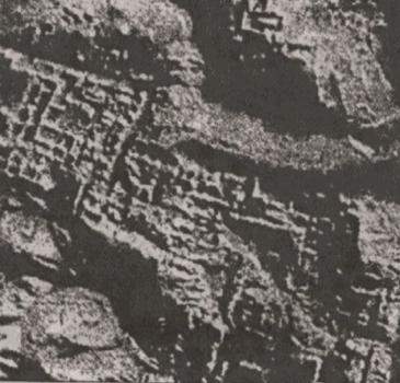 razvaliny goroda na Lune