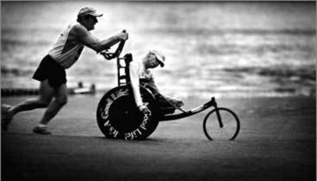 Отцовская любовь и сила воли