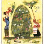 Русские народные пословицы в картинках для детей (10 фото)