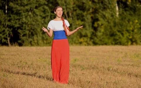 Клип новосибирской певицы о нашем президенте (видео)