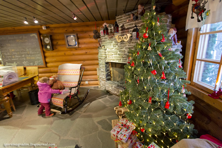 «Сказочная страна Лапландия» (фоторепортаж из родной деревни Санта Клауса, 49 фото с комментариями + видео )