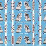 Способы шнуровки кроссовок (инфографика)